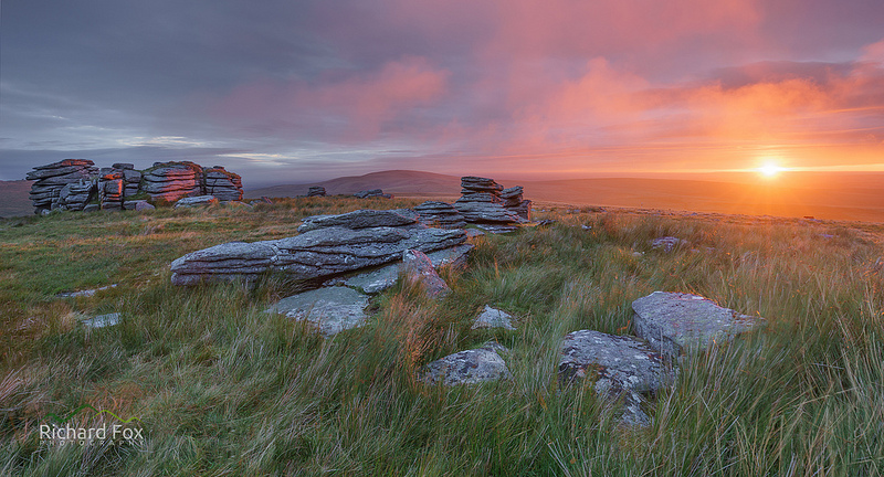 Wild Tor at Sunrise