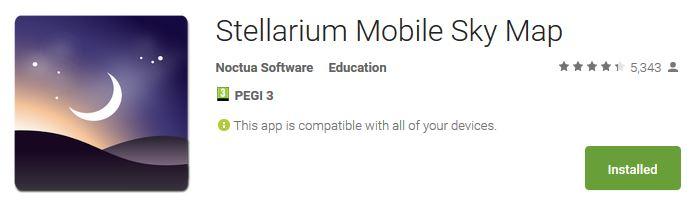 Stellarium Android App