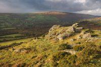 Photographic Print: Tunhill Turmoil, Tunhill Rocks, Dartmoor