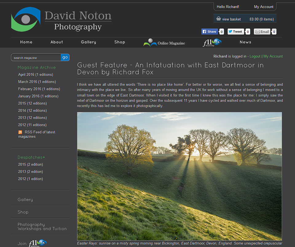 Guest_Feature - An Infatuation with East Dartmoor in Devon by Richard Fox