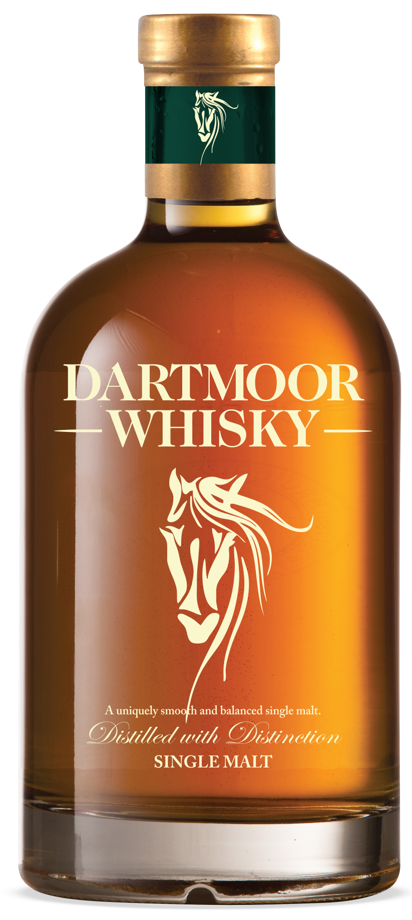 Dartmoor Distillery Single Malt Whisky Bottle