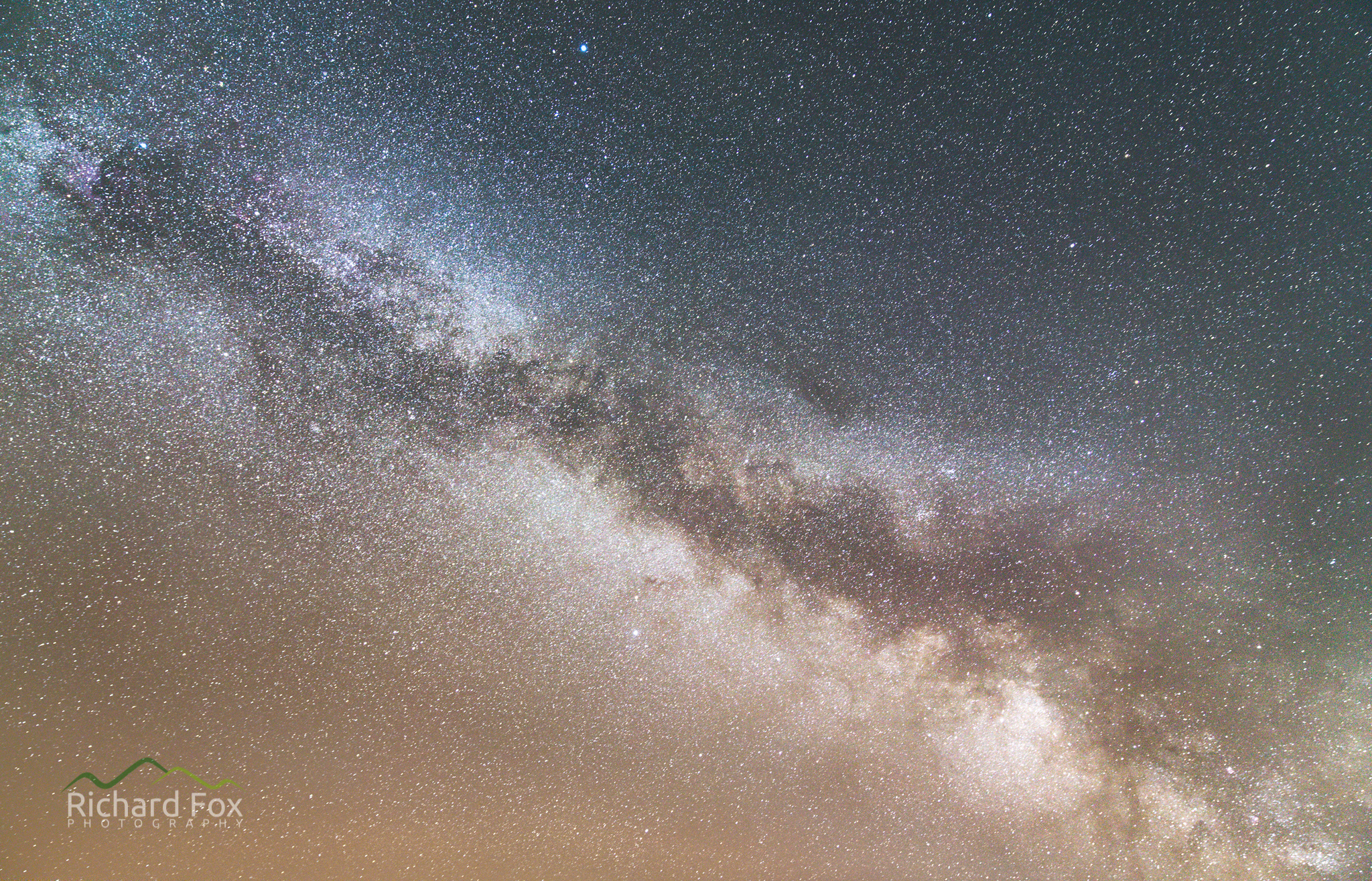 Milky Way from Hound Tor