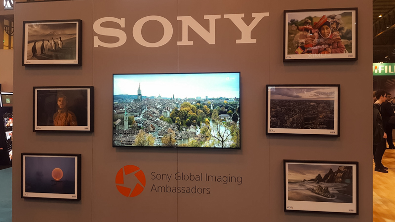 Sony Global Imaging Ambassadors Presentation Board
