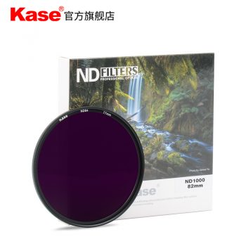kase-67-72-77-82mm-Nd1000-Filter-Neutral-Density-Filters-Ultra-Slim-Nd-1000-Gray(pack)2